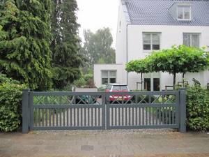Houten hek - Open inrijhek / toegangshek - Farm Poorten
