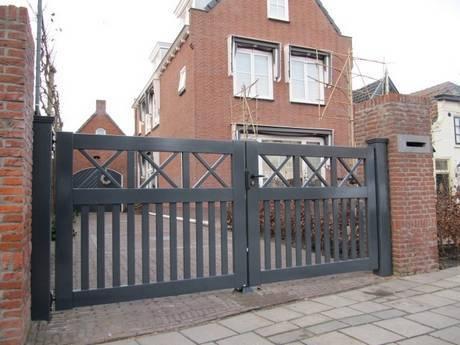 Houten poort - Open inrijpoort - Farm Poorten